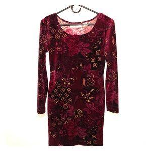 Dresses & Skirts - Velvet Mini Dress